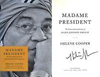Helene Cooper~PERSONALLY SIGNED~Madame President~1st/1st ~ Ellen Johnson Sirleaf