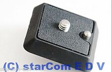 Cullmann Cross M-40470 CX-470 1/4 Zoll Schnellkupplungsplatte SK-Platte QR-Plate