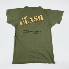1982 The Clash Combat Rock Vintage Tour Punk Rock Tee Shirt 80s 1980s Ramones
