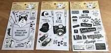 Daiso Thermal Transfer Rubber Sheet (3 types Set)