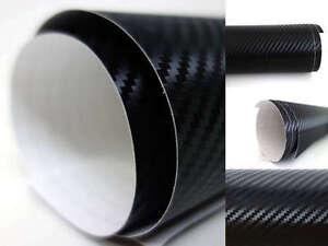 "60"" x 120"" (1524mm x 3048mm) 3D CARBON FIBER VINYL SHEET FILM CAR WRAP STICKER"