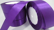 "New Gift Wrapping wedding festival Party 5yards 1""25mm Craft Satin Ribbon Jj"