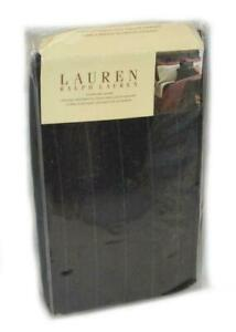 1 RALPH LAUREN Bleecker Street Charcoal Grey Pinstripe STANDARD SHAM NEW RARE