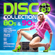 CD Disco Collection 80s & 90s von Various Artists  2CDs