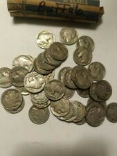 Buffalo Nickels - Full Roll 40 Coins -Nice Full Dates