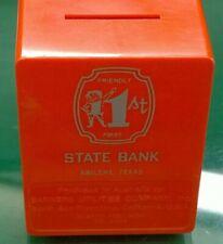 Friendly First State Bank Vault Safe