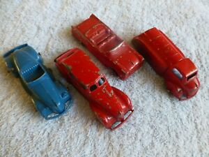 Tootsietoy Diecast vehicle collection, approx 8cm models, four in total