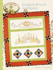 CRAB APPLE HILL - MORGANA SHROO'S APOTHECARY QUILT EMBROIDERY PATTERN