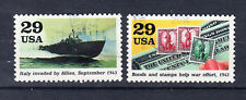 USA Briefmarken 1993 2.Weltkrieg 1943 Mi.Nr.2370+71