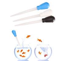 Aquarium nettoyeur de gravier vide réservoir de poisson pompe siphon pour l'eau