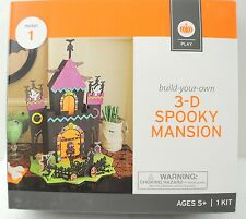 Build Your Own 3-D Spooky Mansion Halloween Decor