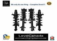 (2) front+(2) Rear  Quick Complete Strut  fit 2002-06 Honda CR-V