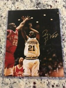 Ray Jackson Signed Michigan Wolverines 8X10 Photo