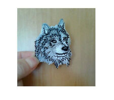 Wolf - Wolf Head - Wild Animal - Embroidered Iron On Applique Patch
