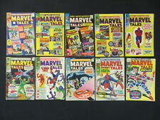 MARVEL TALES #3-6 14-18 20 10 ISSUE SILVER AGE COMIC RUN SPIDER-MAN