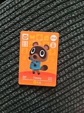 310 Timmy official Nintendo Switch Animal Crossing amiibo card ACNH