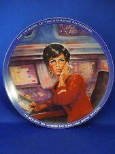 Vintage 1983 Star Trek Uhura Collectible Decorative Plate 1438P Susie Morton Coa
