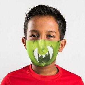 Halloween Monster face mask washable and reusable
