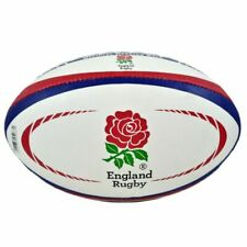 Gilbert England International Replica Rugby Ball 5 White