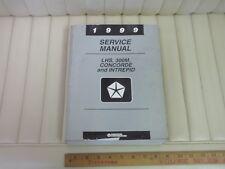 1999 Chrysler LHS 300M Concorde Intrepid Car Shop Service Repair Manual