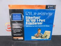 Cisco-Linksys PPSX1 EtherFast 10//100 1-Port PrintServer