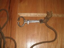 "Bull Cow Nose 8"" Lead with Long Rope Farm Ranch Veterinary"