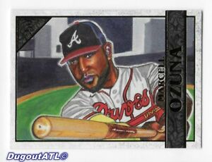 ⚾️ 2020 ~ Topps Gallery #7 ~ Marcell Ozuna ~ Braves ~ Mint=9