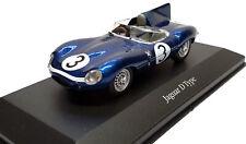 Jaguar D-Type Ecurie Ecosse #3, R. Lockhart, 1957, Blue 1:43 Scale Diecast Model