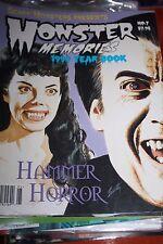 Monster Memories Magazine NO. 7 -  1999 Yearbook - NEW CONDITION!! RARE!!