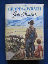 THE GRAPES OF WRATH by JOHN STEINBECK - HARPO MARX'S Copy wi Bookplate - 1st Ed.