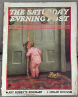 Saturday Evening Post December 23, 1934 Norman Rockwell The Land Of Enchantment