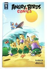 Angry Birds Comics #5 SUB Variant Cover IDW Comic Book Volume 2 2016