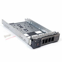 "New 3.5"" SAS SATA Hard Drive Tray Caddy For Dell PowerEdge R410 Ship From USA"