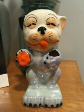New listing Antique Ceramic Toothbrush Holder Bonzo The Dog Made In Japan