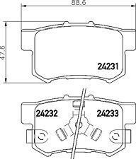 Mintex Rear Brake Pad Set MDB2710  - BRAND NEW - GENUINE - 5 YEAR WARRANTY