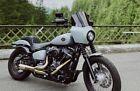 """Harley CVO custom metal tank emblems badges 3.7"""" gloss black"""