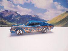 69 MERCURY CYCLONE   2016 Hot Wheels Flames Series   Blue