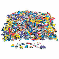 Fabulous Foam Self-Adhesive Transportation Shapes - Craft Supplies - 500 Pieces