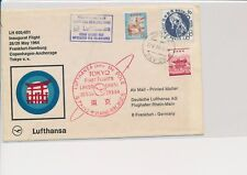 LM68698 Japan 1964 to Germany special flight airmail cover used