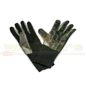 HS/Hunters Specialties Camo Net Gloves- Realtree Edge-HS-100122