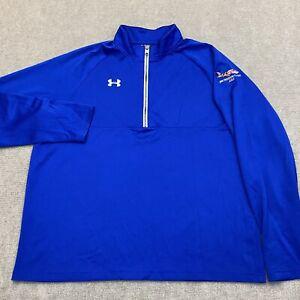 UNDER ARMOUR Heat Gear Athletic 1/4 Zip Shirt Size XL BWI Golf Tournament Men's