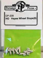 HO/HOn3 Scale Durango Press 'Hayes Wheel Stops (8)' Kit #DP-208