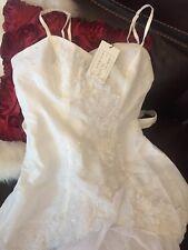 New Cherlone Allure Wedding Dress/ Medium/ Large/ 10-12 NWT UK Style