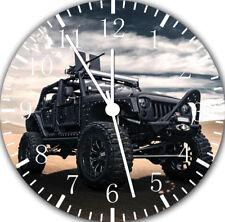 Jeep Wrangler Off Road Frameless Borderless Wall Clock Nice For Gifts Decor F102