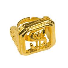 Ring Dollarzeichen, gold