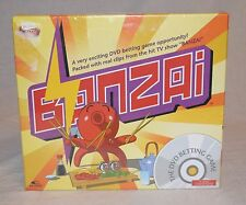 Banzai TV Show DVD Betting Game Party Board Game New Sealed