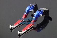 PRO Brake Clutch adjustable Levers For Suzuki 2001-04 GSXR1000 GSX-R1000 K1 Blue