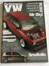 Performance VW Magazine  March 2010 PVW VW GTI VR6 1.8T Mk4 Mk1