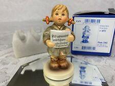 "Mi Hummel Club Exclusive Edition Figurine Goebel ""First Solo"" 2182 Girl Boxed"