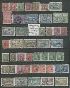 Canada Back of Book VF Used High CV Lot #927
